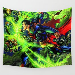 The real strength of his Wall Tapestry