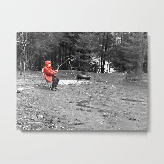 Sad Child Metal Print