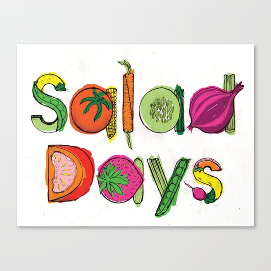 Salad Days Canvas Print