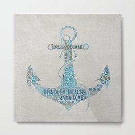 Bradley Beach Metal Print