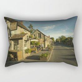 Old Crown at Kelston Rectangular Pillow