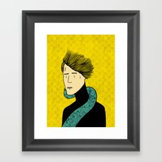 A friend indeed Framed Art Print