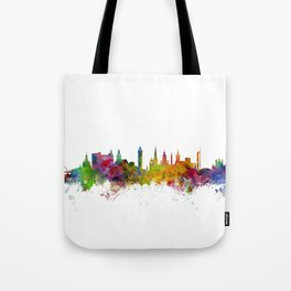 Glasgow Scotland Skyline Cityscape Tote Bag