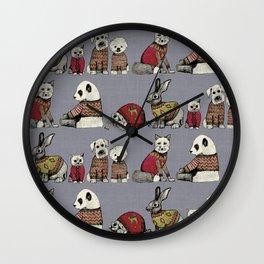 vintage chums Wall Clock