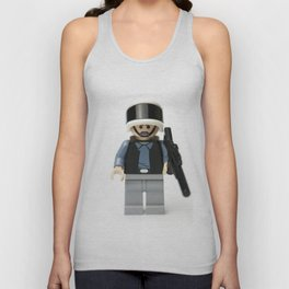 War in the stars Minifig guy Unisex Tank Top