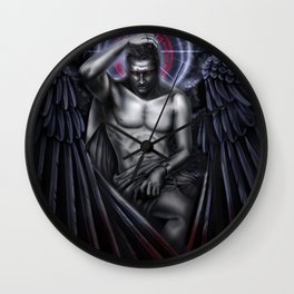 Sympathy for the Devil Wall Clock