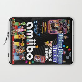 Video Game Trader #33 Cover Design Laptop Sleeve