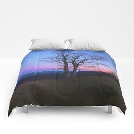 Parkway Overlook at Sunset Comforters