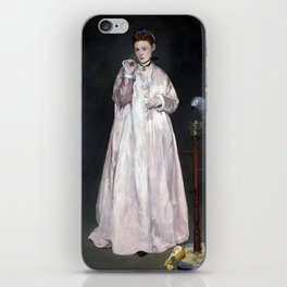 Édouard Manet Young Lady in 1866 iPhone Skin