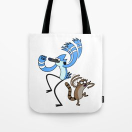 Mordecai & Rigby - Regular Show Tote Bag