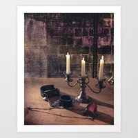 bdsm Art Prints featuring BDSM Rendezvous by Simone Gatterwe