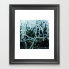 Seasonal window dressing Framed Art Print