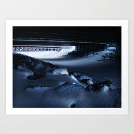 Chilled Evening III Art Print