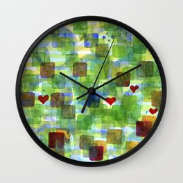 The Power Of Love Wall Clock