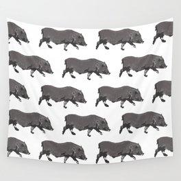 Fat Little Piggy Wall Tapestry