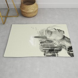 New York City reflection Rug