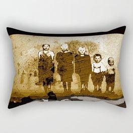 The GARGOYLE and the LOST GENERATION - spirit version Rectangular Pillow
