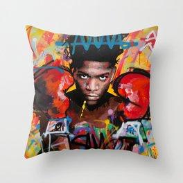 Jean-Michel Basquiat ART Throw Pillow