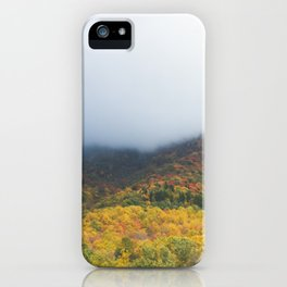 Fall Mountain iPhone Case