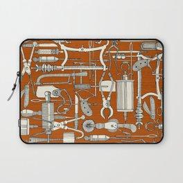 fiendish incisions rust Laptop Sleeve