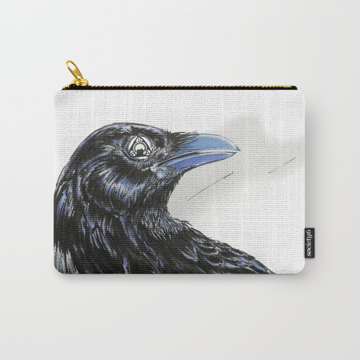 RHX Raven Logo Carry-All Pouch