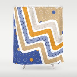 Geometric Figures 6 Shower Curtain