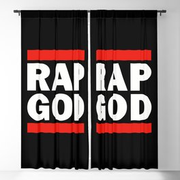 RAP GOD Blackout Curtain