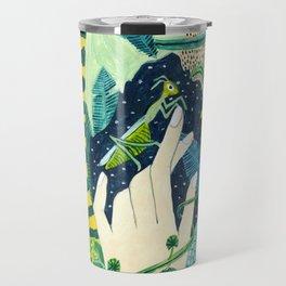 Jungle Praying Mantis Travel Mug