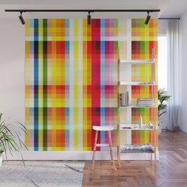 classic multicolored retro pattern Wall Mural
