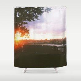 Summer nights in Stockholm Shower Curtain