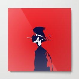 smoke boy Metal Print