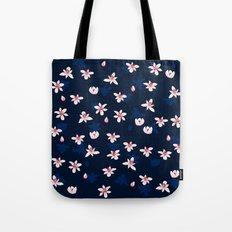 Little Flowers Blues Tote Bag