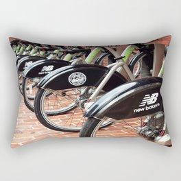 Boston Bike Share Rectangular Pillow