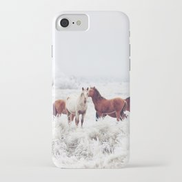 Winter Horseland iPhone Case