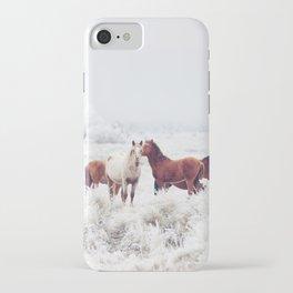 Winter Horseland iPhone Case