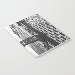 Wall street bw Notebook