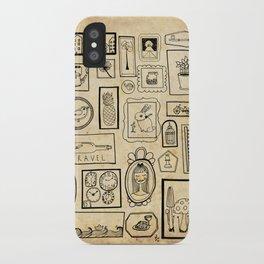 Frames II iPhone Case