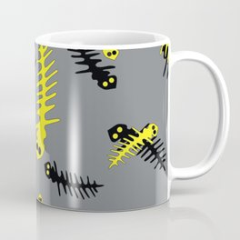 Black and Yellow Coffee Mug