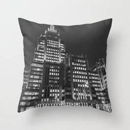 Weapon complex Throw Pillow