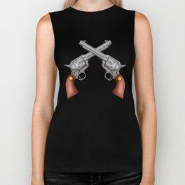 Pistols Biker Tank