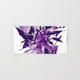 Violet abstraction Hand & Bath Towel
