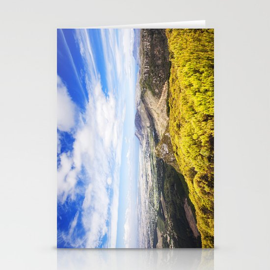 View of Silvermine and False Bay Stationery Cards
