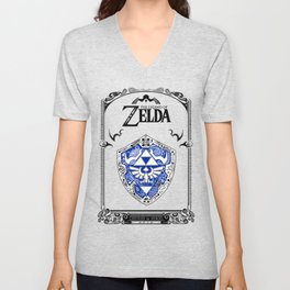 Zelda legend - Hylian shield Unisex V-Neck