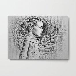 Materials Metal Print