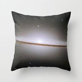 Sombrero Galaxy  Throw Pillow