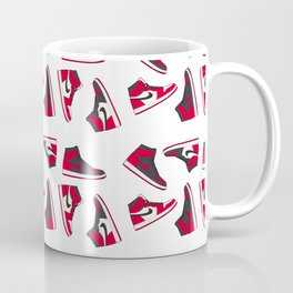Jordan 1 Pattern Multi-Colors Coffee Mug