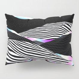 Stripes Mountains Pillow Sham