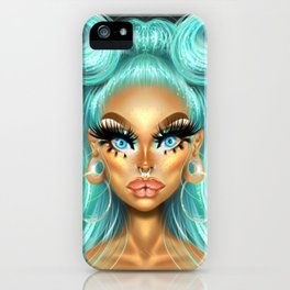 Aja The Kween iPhone Case