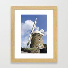 Heage Windmill Framed Art Print