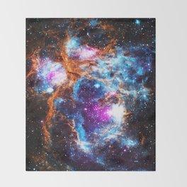 Cosmic Winter Throw Blanket